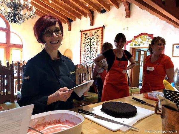 Fran at Cocina Que Canta Class