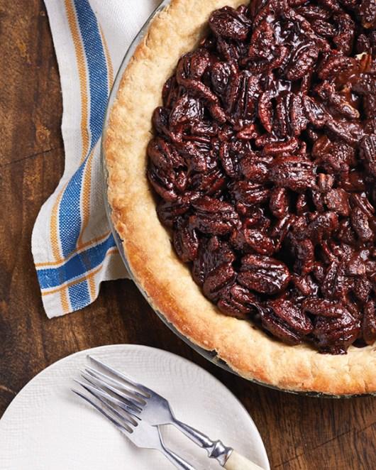 Vegan Chocolate Pecan Pie