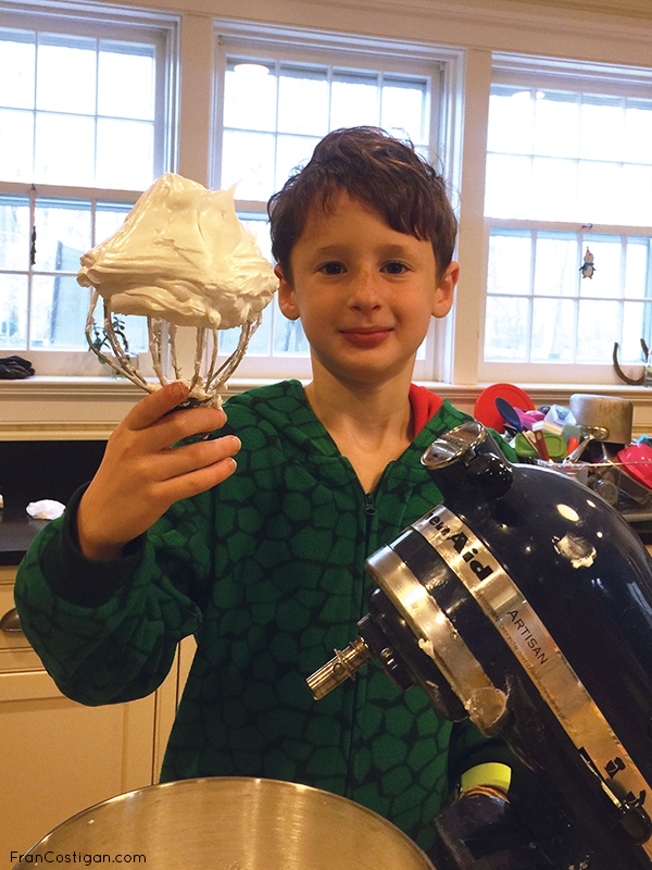 Eli with Aquafaba Meringue