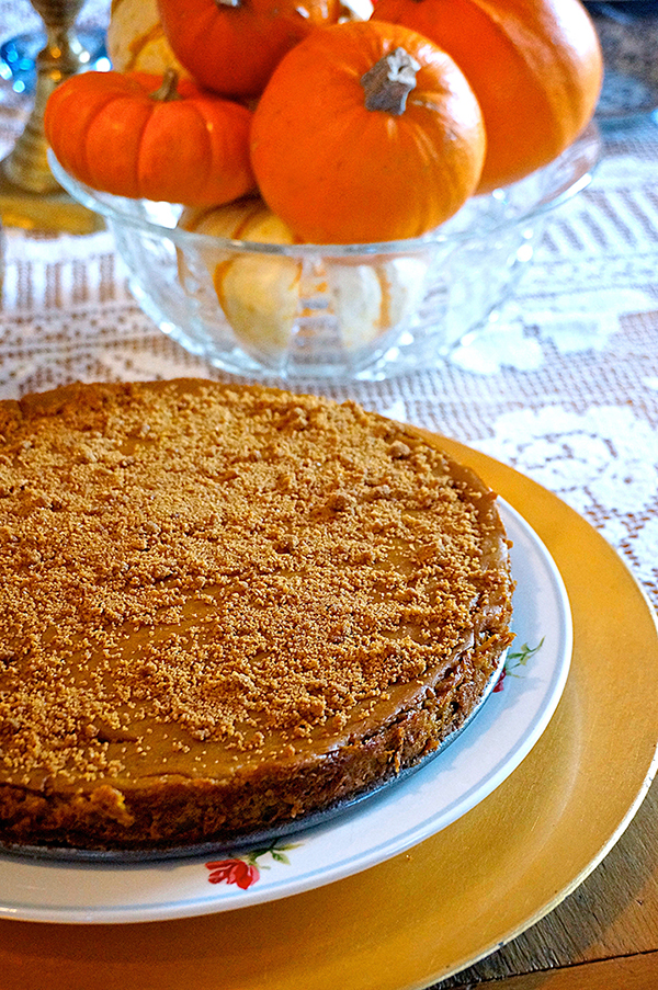 Laura Theodore's Vegan Pumpkin Spice Cheeze-Cake