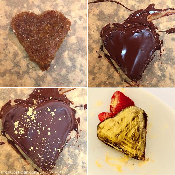 Valentine's Day Cream Tart Hearts