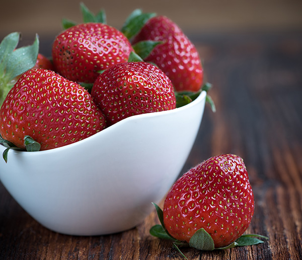 Strawberries are on top of EWG's Dirty Dozen list