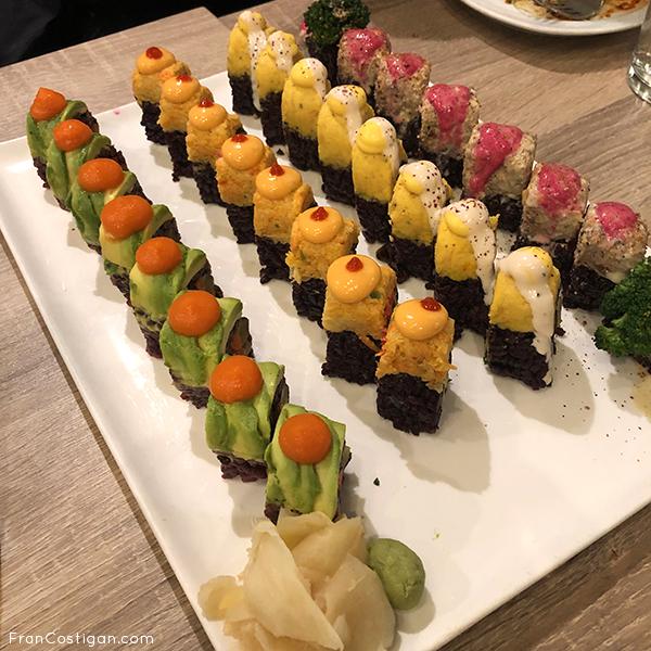 Sushi at Beyond Sushi