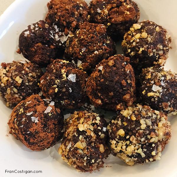 Vegan Cacao Superfood Truffles