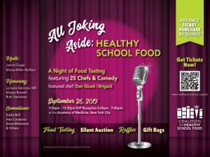 Healthy School Food Gala @ The New York Academy of Medicine