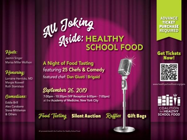 Healthy School Food Gala 2019