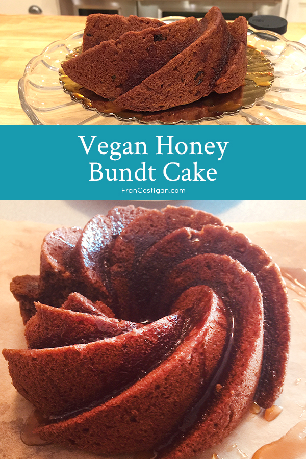 Think of this Vegan Honey Bundt Cake for the next Rosh Hashanah holiday, but serve it during the winter as a lovely spice cake.