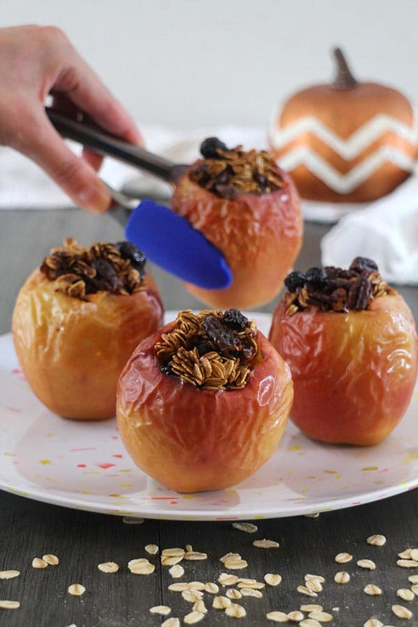 Pumpkin Spice Baked Apples from Glue and Glitter