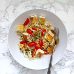Thai Cabbage Salad with Tofu