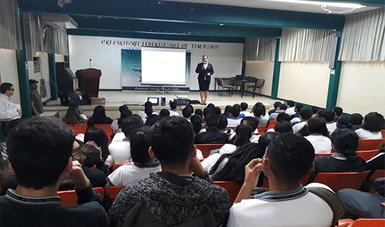 Imparte PGR Pláticas Sobre Prevención del Delito a Estudiantes de Bachillerato en Tamaulipas