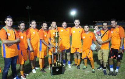 Equipo Conagua Se Corona Campeón del Torneo de Fútbol Denominado Vicente Javier Verastegui Ostos