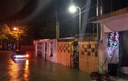 Inundaciones, Daños y Caos deja Aguacero en Cd. Mante