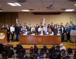 Reconoce UAT a creadores del parlamento juvenil tamaulipeco