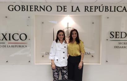 Alcaldesa Noemy González Se Reúne Con Delegada Federal de SEDESOL