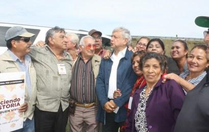 No Les Fallare; AMLO a Gonzálenses