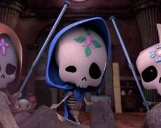 """Tradicionales Calaveritas de Dulce Tienen Miniserie """"Sugar skulls"""" en Discovery Kids"""