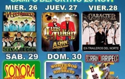 Tendrá en Diciembre Municipio de Ocampo la «Feria del Vergel de Tamaulipas»