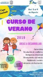 Ayuntamiento de González Invita a Curso de Verano