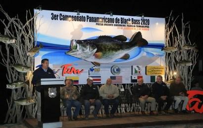 Inaugura Gobernador Torneo Panamericano de Pesca en la Presa Vicente Guerrero