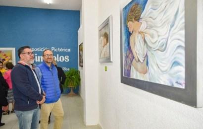 Inauguran la Exposición Pictórica «Símbolos» en la Galería de Arte Municipal