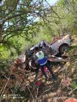 3 Muertos y 3 Heridos en Fatal Volcadura y Choque
