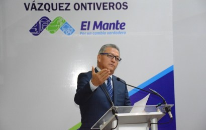 Rinde alcalde mantense su segundo informe al frente de la presidencia municipal