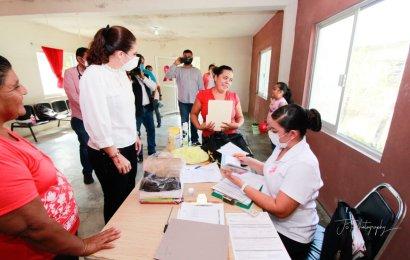 Llevan Brigada Medico Asistencial a Mujeres de la Colonia «Las Amarillas»