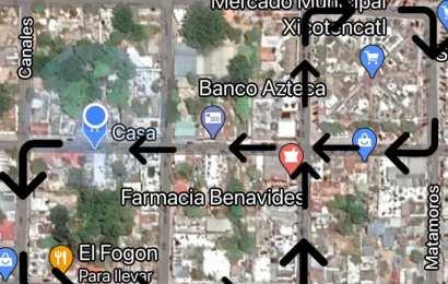 Atención Estas Calles Estarán Cerradas por Reparación en la zona centro de Xicoténcatl