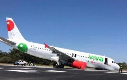 Avión sufre accidente antes de despegar en Puerto Vallarta
