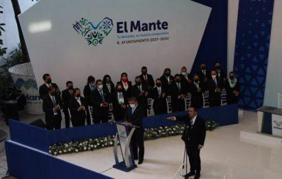 Asume Noé Ramos la alcaldía de El Mante