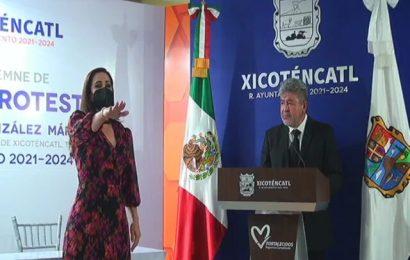 Noemy González: Gobernaré Sin Distinción de  Colores Partidistas