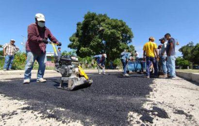 Inicia  Programa de Bacheo en Xicoténcatl
