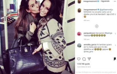 Inés Gómez Mont habría regalado a Galilea Montijo un bolso de más de dos millones de pesos; Resurge foto en redes sociales
