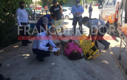 Atropellan a Mujer sobre el Boulevard Cavazos Lerma