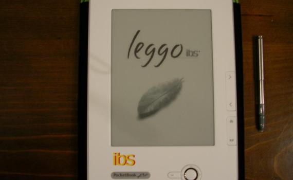 Immagine dell'ebook reader LeggoIBS