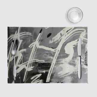 Nino napperon Collection Harmonie en noir et blanc