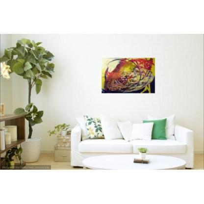 Peinture acrylique contemporaine