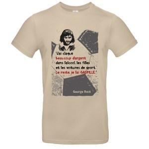 T-shirt Best «J'ai claqué beaucoup d'argent…»