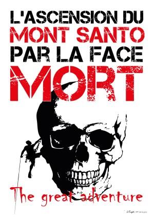 Poster A3+ «Mont Santo» fond blanc