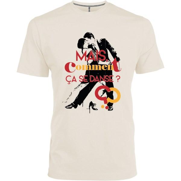 """T-shirt """"Comment ça se danse ?"""" par le Frangotier"""