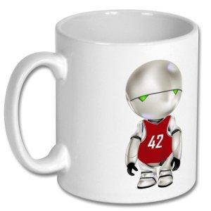 Mug H2G2 «42»