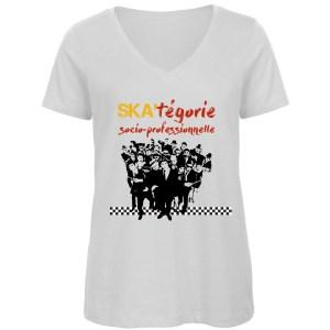 T-shirt «Ska-tégorie socio-professionnelle»