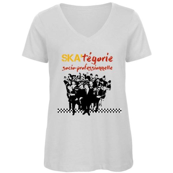 """T-shirt """"Ska-tégorie socio-professionnelle"""""""