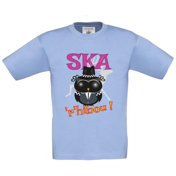 "T-shirt enfant ""Ska'r'hibou"""