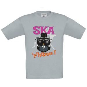 T-shirt enfant «Ska'r'hibou»