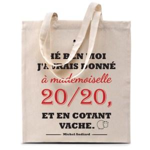 Tote bag Audiard «Mademoiselle 20/20»