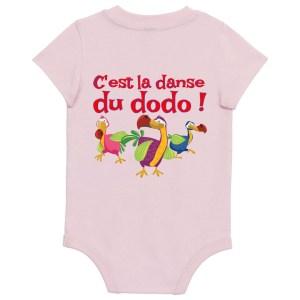 Body bébé «C'est la danse du dodo»