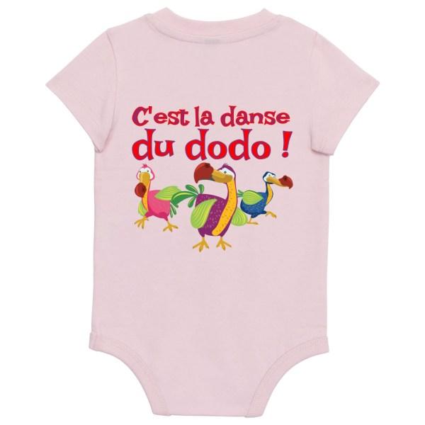 """Body bébé """"C'est la danse du dodo"""""""