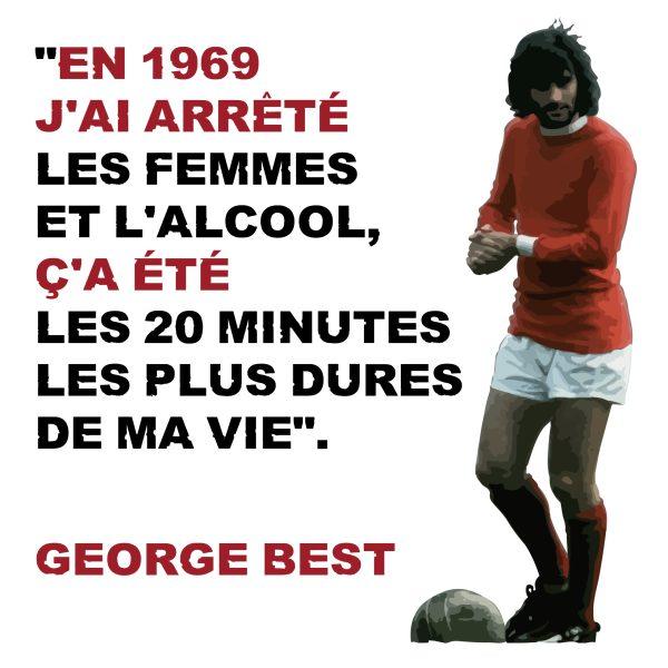 """Magnet George Best """"En 1969..."""""""