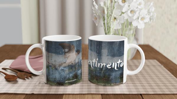 """Mug """"Pentimento"""""""
